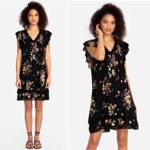 Jade by Johnny Was Palma Pintuck Tunic Dress Small
